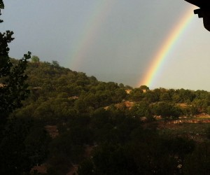 Arc-en-ciel à Santa Fe - Photo Kantoken
