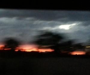 L'orage approche de Santa Fe - Photo Kantoken
