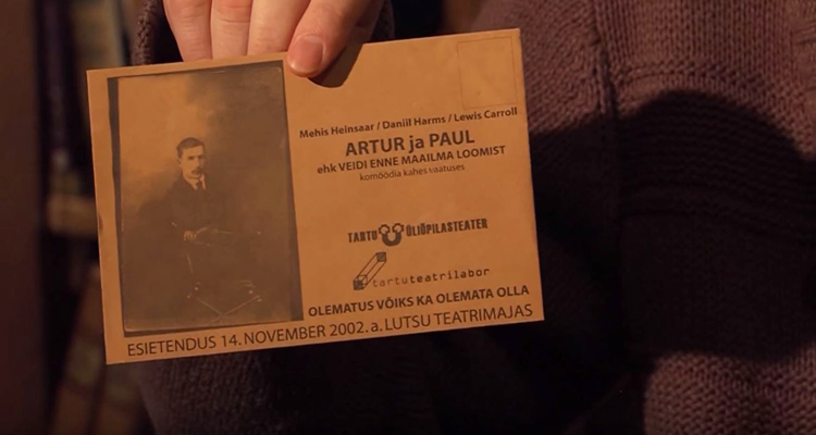 "Invitation ""Artur ja Paul"" Mehis Heinsaar, 2002"