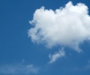 Gros nuage à Santa Fe - Photo Kantoken