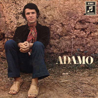 Couverture album d'Adamo 1970