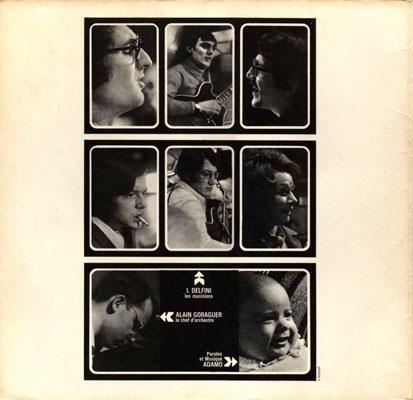 Intérieur album d'Adamo 1970
