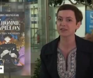 Sophie Jovillard présente L'homme papillon de Mehis Heinsaar dans Échappées belles sur France 5 le 16 mai 2015